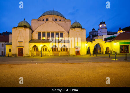 Synagogue in the old town of Trencin, Slovakia. - Stock Photo