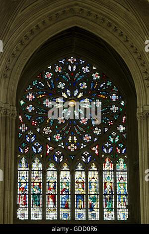 Europe, France, Indre et Loire, Tours, Saint Gatien cathedral - Stock Photo