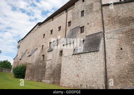 Tittmoning - castle - Stock Photo