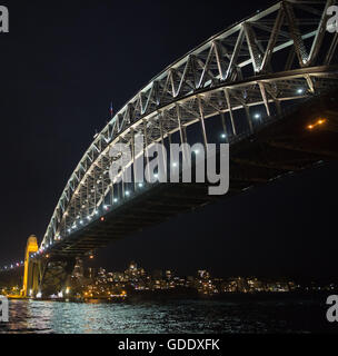 Sydney. 15th July, 2016. Photo taken on July 15, 2016 shows the national flag of France flying on top of the Sydney - Stock Photo