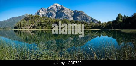 South America,Argentina,Patagonia,Rio Negro,Bariloche,Nahuel Huapi,National Park,Lake District - Stock Photo