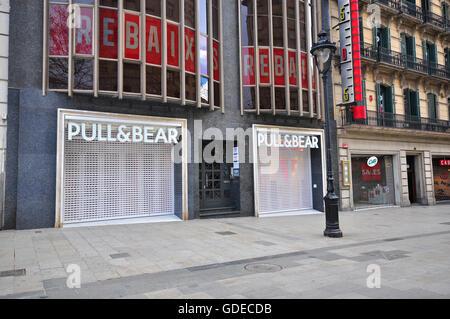 Pull and bear barcelona