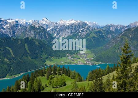Lake Achensee, Tyrol, Austria - Stock Photo