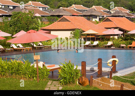 Chen La resort, Phu Quoc island, Vietnam - Stock Photo