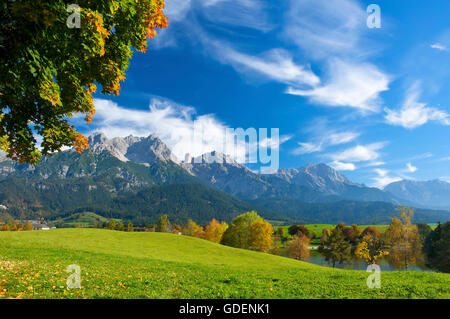 Alps, Pinzgau, Salzburger Land, Austria - Stock Photo