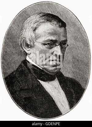 Sir Charles Wheatstone, 1802 – 1875.  English scientist and inventor. - Stock Photo