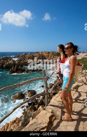 Li Cossi Beach, Costa Paradiso, Sardinia, Italy - Stock Photo