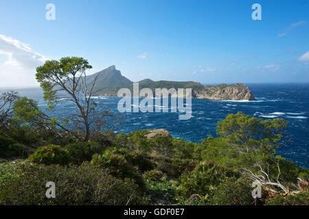 Sa Dragonera Island, Majorca, Balearics, Spain - Stock Photo