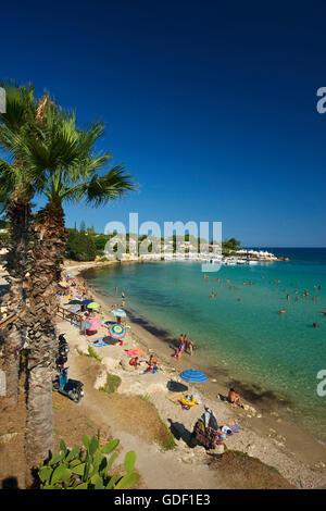 Fontane Bianche, Syracuse, Sicily, Italy - Stock Photo