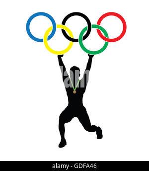 Olympics, Rio, 2016 - Stock Photo