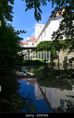 St. Peter in der Au: Castle, Austria, Niederösterreich, Lower Austria, Mostviertel - Stock Photo