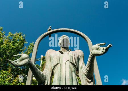 Tbilisi, Georgia - May 19, 2016: Monument To The Georgian Poet Ietim Gurji In Tbilisi - The Capital Of Georgia. - Stock Photo