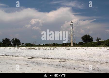 Gasparilla Island State Park on the Florida Gulf Coast - Stock Photo