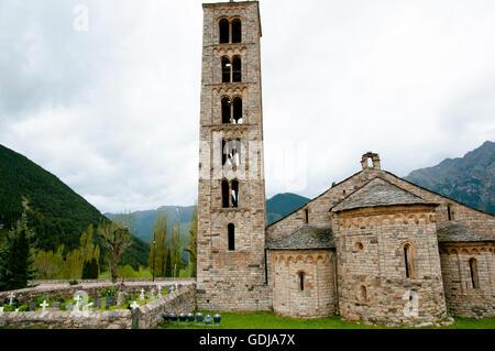Sant Climent Church - Taull - Spain - Stock Photo