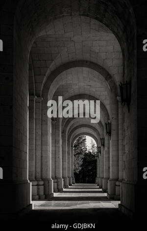 Valley of the Fallen (Valle de los Caidos),  Madrid province, Spain. - Stock Photo