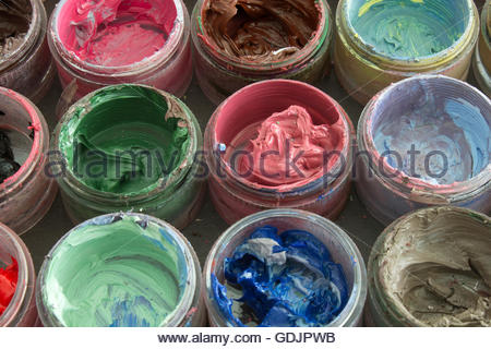 Oil Painting Solvent Containers