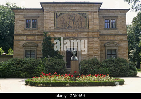 geography / travel, Germany, Bavaria, Bayreuth, museums, Richard Wagner Museum, Villa Wahnfried, exterior view, - Stock Photo