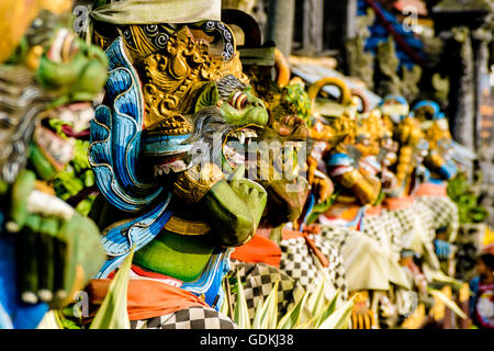 Pura Ulun Danu Batur, second biggest candi on Bali, Indonesia - Stock Photo