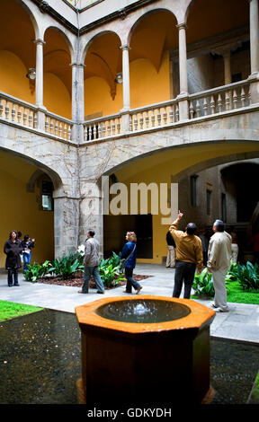 Palau del Lloctinent, Barcelona,Spain - Stock Photo