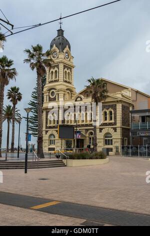 Glenelg Town Hall in Adelaide, South Australia. - Stock Photo