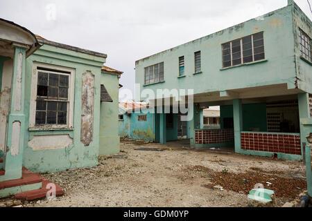Garrison areas bridgetown beach Caribbean Sea South West coast resort view Barbados coastline independent island - Stock Photo