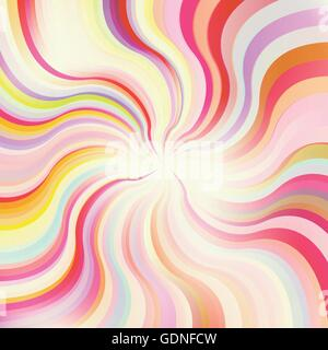 Abstract sunburst vector background for poster - Stock Photo