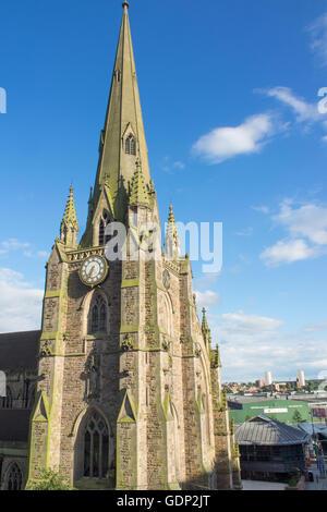 Parish Church of Saint Martin in the Bullring, Birmingham. - Stock Photo