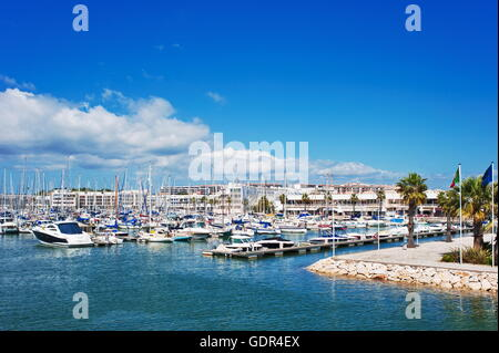geography / travel, Portugal, Lagos, marina, Additional-Rights-Clearance-Info-Not-Available - Stock Photo