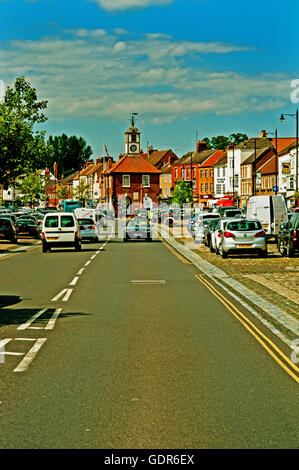 High Street, Yarm - Stock Photo