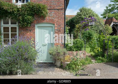 Lychgate cottage Hambleden, Buckinghamshire, England - Stock Photo