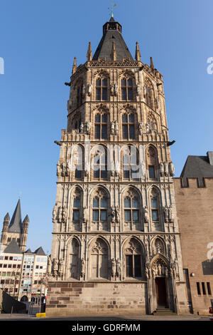 Town hall, Cologne, North Rhine-Westphalia, Germany - Stock Photo
