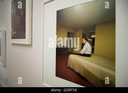 National Portrait Gallery London, UK. 20th July 2016. William Eggleston Portraits. Over 100 works by pioneering - Stock Photo