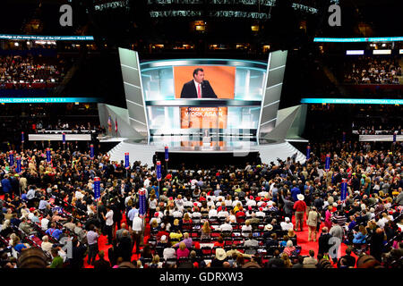 Cleveland, USA. 19th July, 2016.           the 2016 Republican National Convention to oder at the Quicken Loans - Stock Photo