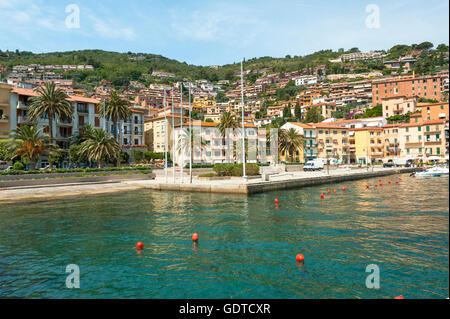 Bay of Porto Santo Stéfano, Tuscany, Maremma coast, Italy - Stock Photo