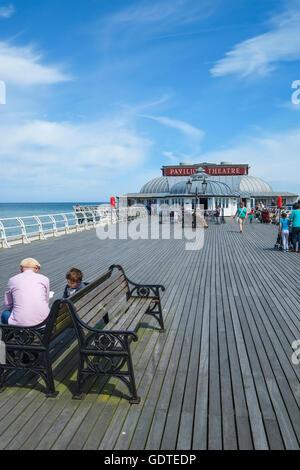 Cromer Pier in Norfolk - Stock Photo
