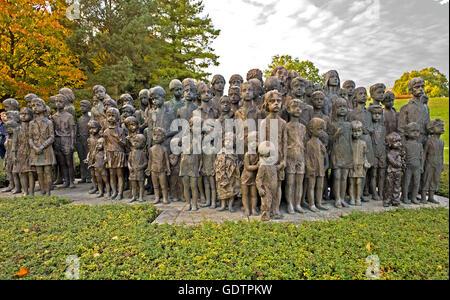 The Children of Lidice - Stock Photo
