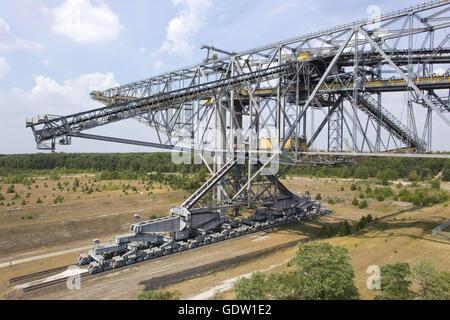 Overburden Conveyor Bridge F60 - Stock Photo