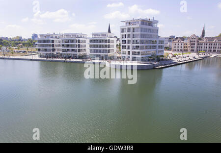 Phoenix See in Dortmund - Stock Photo