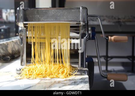 Padella, stylish new pasta restaurant, Borough Market, London, England, UK - Stock Photo