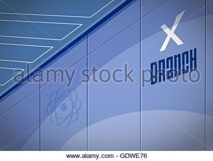 X branch secret agent brain control centre area 51 men in black
