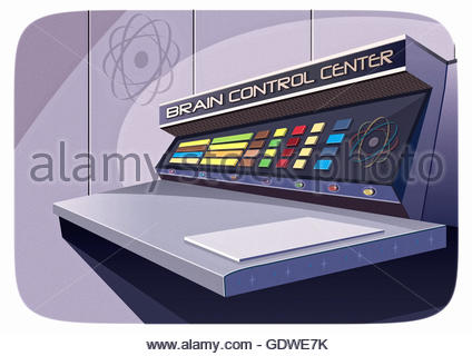 Secret agent brain control centre area 51 men in black