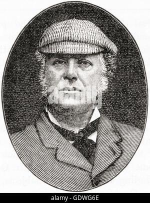 Sir John Everett Millais, 1st Baronet, 1829 – 1896.  English painter and illustrator,  one of the founders of the Pre-Raphaelite Brotherhood.