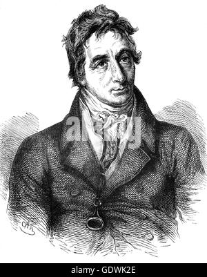 Henry Grattan (1746 – 1820) was an Irish politician and member of the Irish House of Commons, who campaigned for - Stock Photo