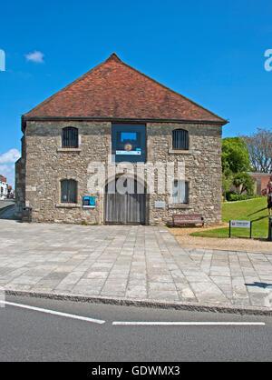 Southampton, Wool House, Seacity Maritime Museum, Hampshire, England, - Stock Photo