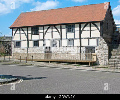 Southampton, Tudor Merchants Hall, Hampshire, England, - Stock Photo
