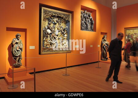 Side by Side. Poland - Germany. 1000 Years of Art and History, an exhibition at Martin-Gropius-Bau - Stock Photo
