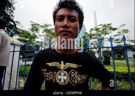 Iron Cross T-Shirt - Stock Photo