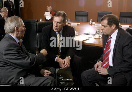 Schaeuble, Glos and Pflueger - Stock Photo