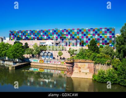 Museum of Modern and Contemporary Art, Strasbourg, Alsace, France, Europe, MAMCS, Musée d'Art Moderne et Contemporain - Stock Photo