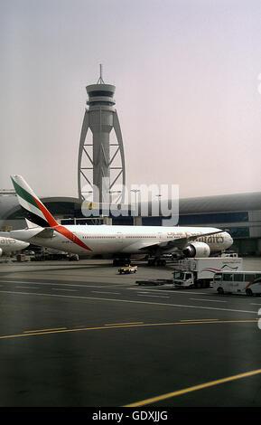 Dubai International Airport - Stock Photo